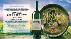 Vino & Vinyasa for Meghan's Foundation