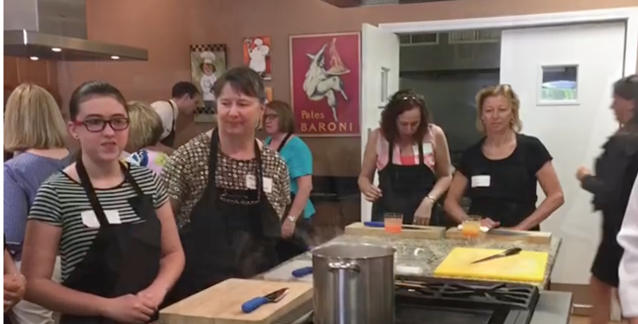 Cooking Class Fundraiser Is A Huge Success!