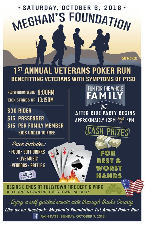 Poker Run Flyer