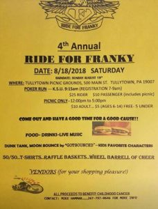 ride for franky