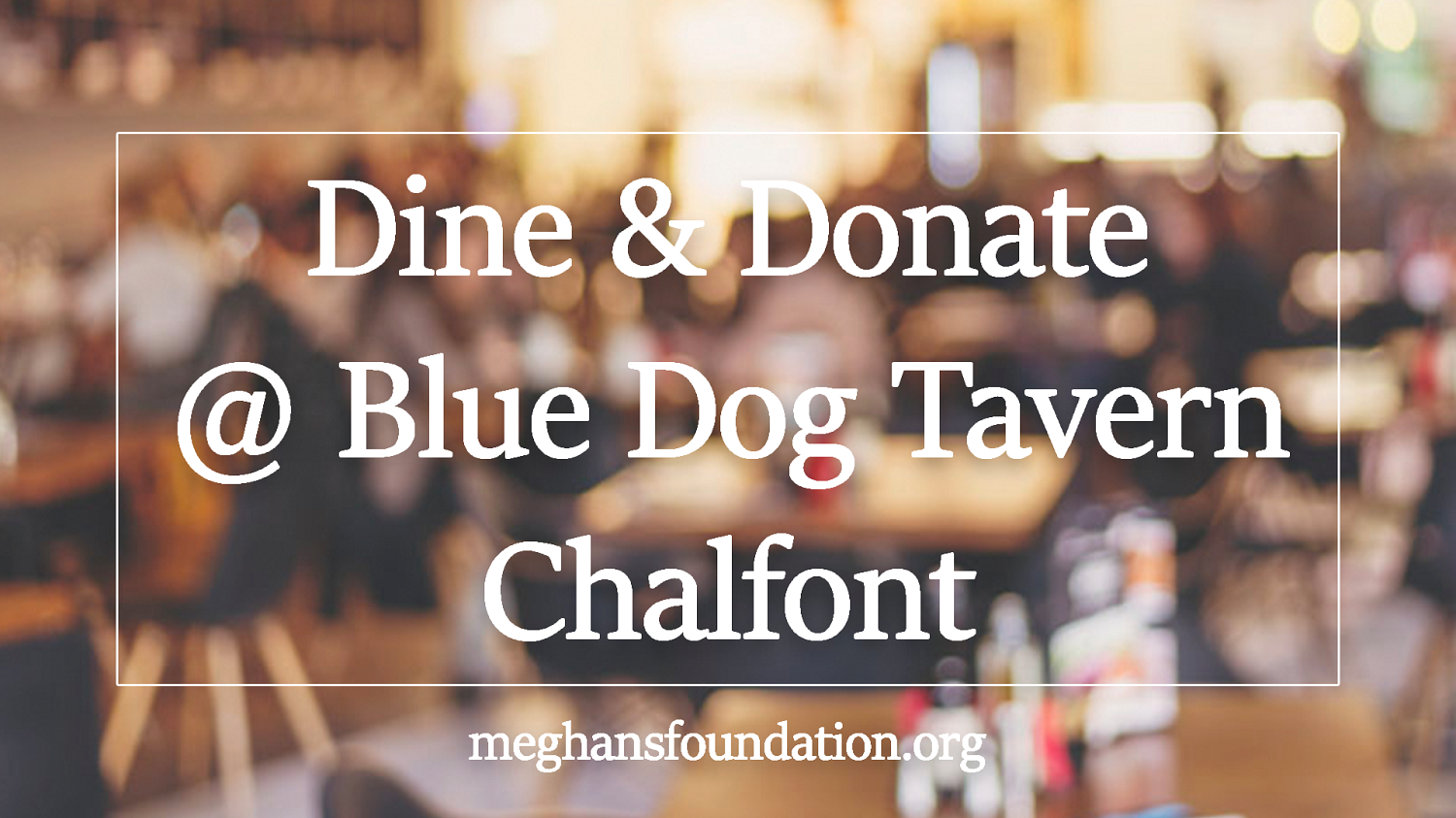 Blue Dog Tavern To Host Dine & Donate November 7
